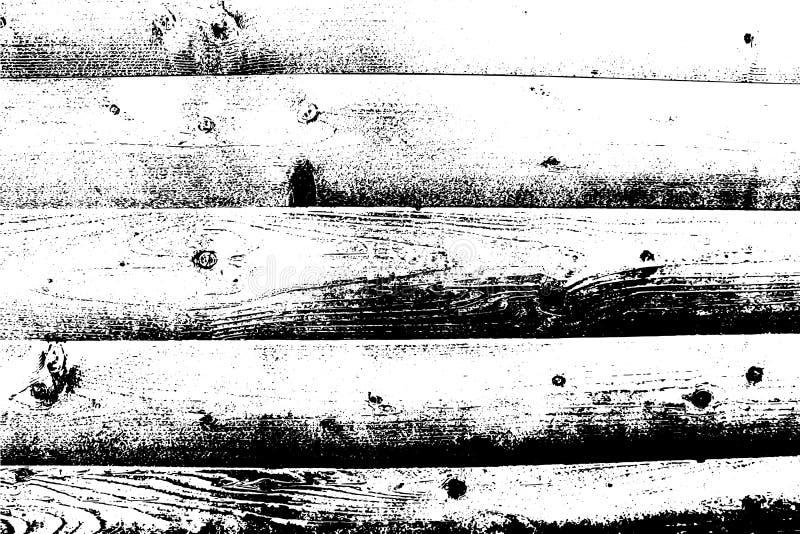 Superfície de madeira da prancha Fundo abstrato, textura da madeira do vetor foto de stock royalty free