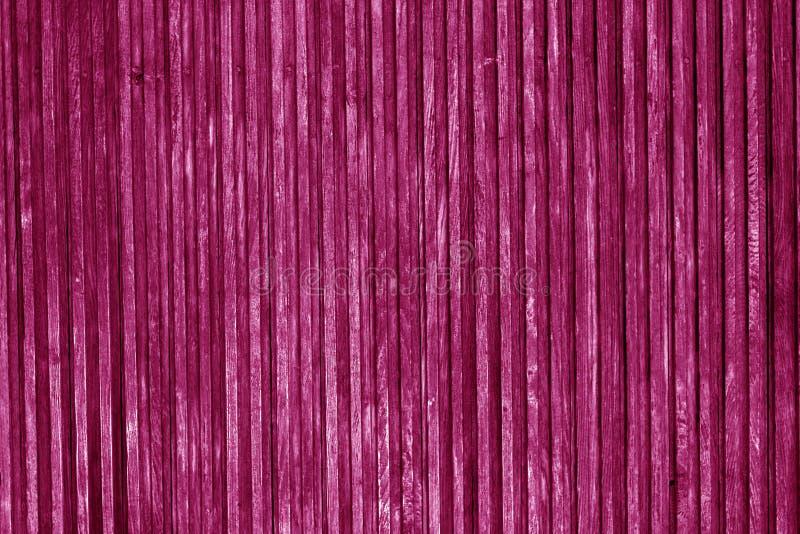 Superfície de madeira decorativa na cor cor-de-rosa fotografia de stock royalty free