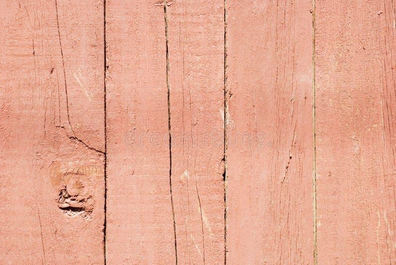 Superfície de madeira vermelha foto de stock
