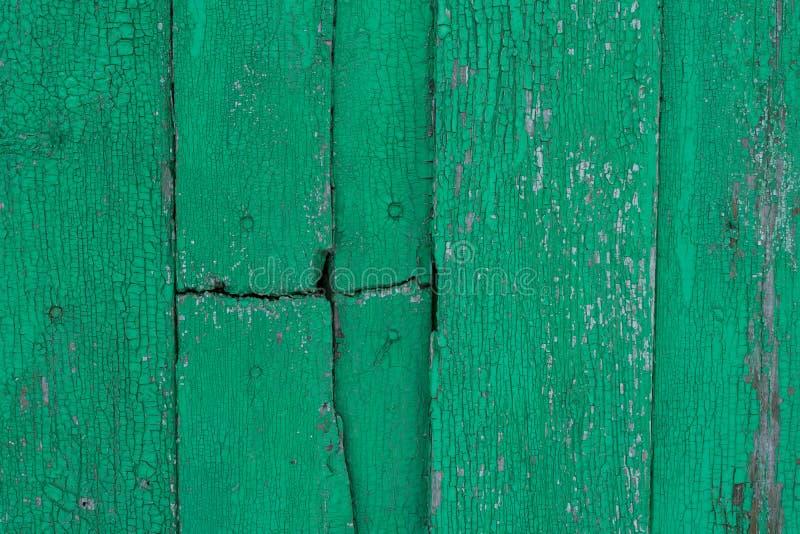 Superfície de madeira vestida velha com pintura Textura de madeira oxidada Fundo Madeira parede imagens de stock