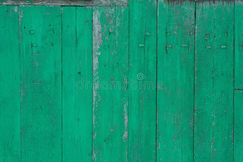 Superfície de madeira vestida velha com pintura Textura de madeira oxidada Fundo Madeira parede fotografia de stock royalty free