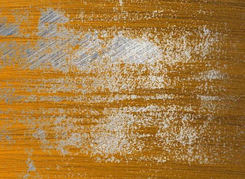Superfície de metal da oxidação ilustração do vetor