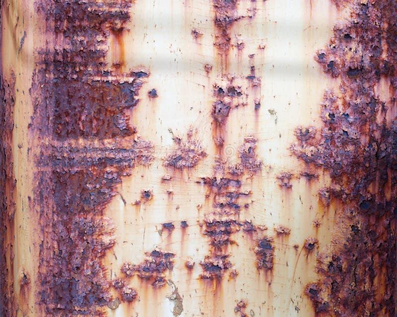 Superfície de metal velha oxidada imagem de stock royalty free