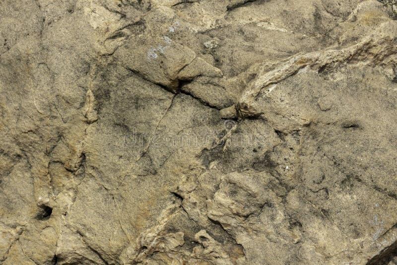 A superfície de uma grande rocha imagem de stock royalty free