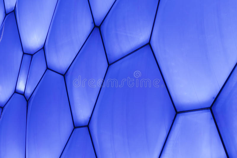 Superfície do cubo olímpico da água do Pequim, China imagens de stock royalty free