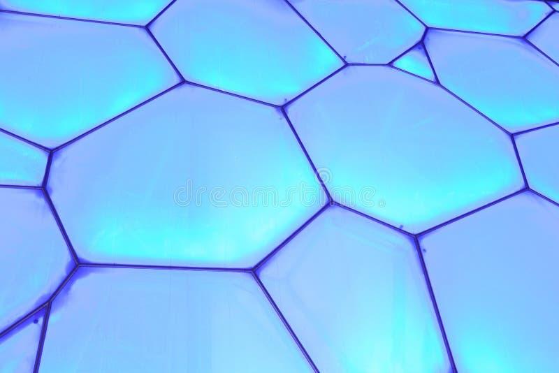Superfície do cubo olímpico da água do Pequim, China imagens de stock