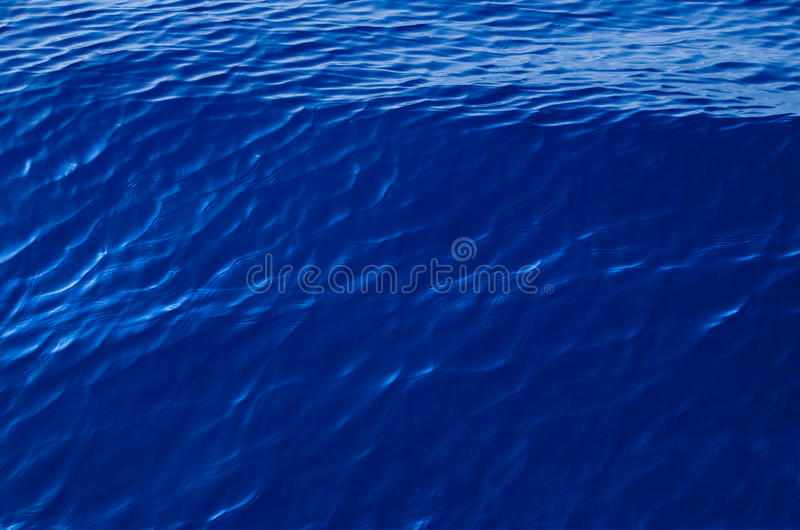Superfície do mar - vista superior foto de stock royalty free