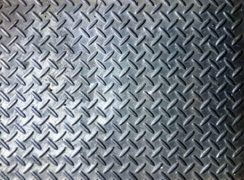 superfície do piso de aço imagem de stock royalty free