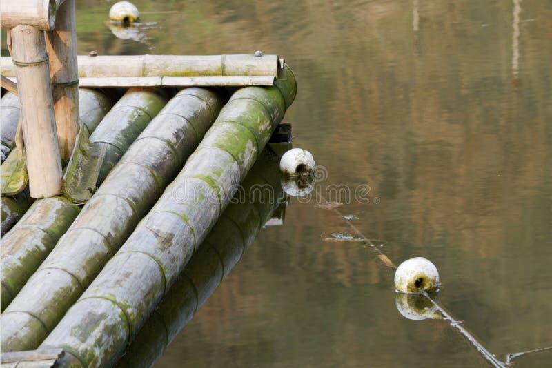 A superfície dos detalhes da jangada fotografia de stock