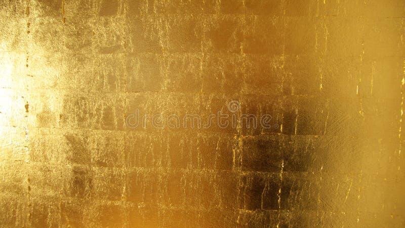 Superfície dourada imagem de stock royalty free