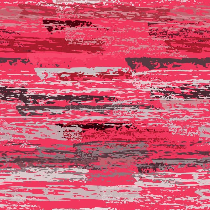 Superfície gasta de carvão do giz da textura pinstripe ilustração stock