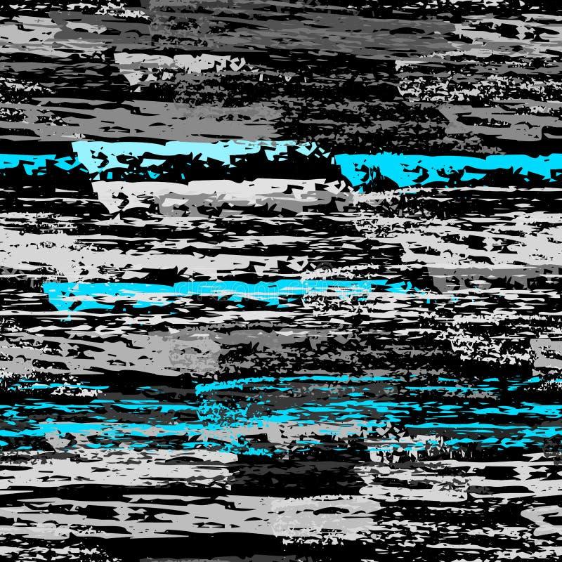 Superfície gasta de carvão do giz da textura pinstripe ilustração do vetor