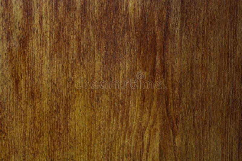 Superfície horizontal vazia da textura de madeira marrom de madeira do fundo Lugar para o projeto foto de stock