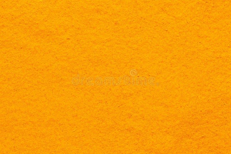 Superfície lisa do quadro completo do pó da especiaria da cúrcuma da curcuma imagens de stock royalty free