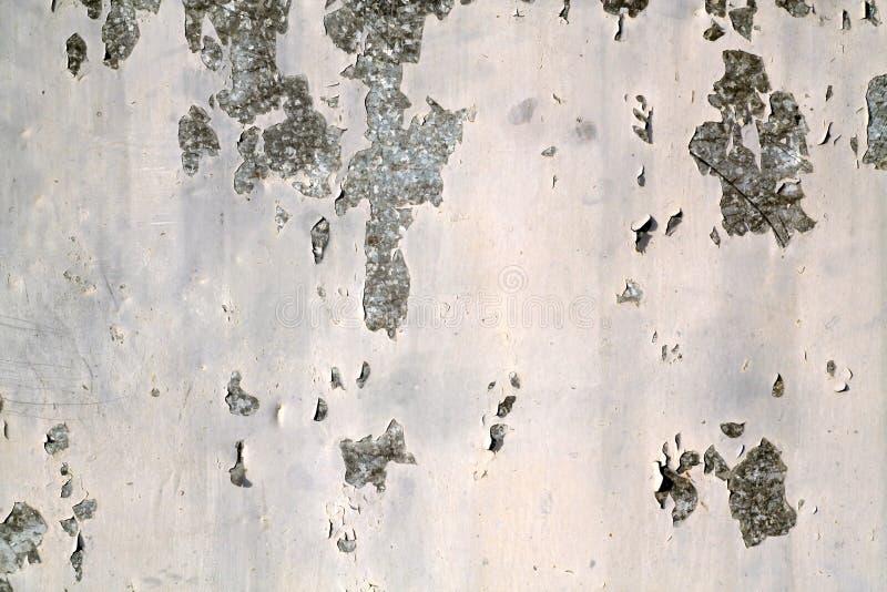 Superfície oxidada suja da parede do metal fotografia de stock royalty free