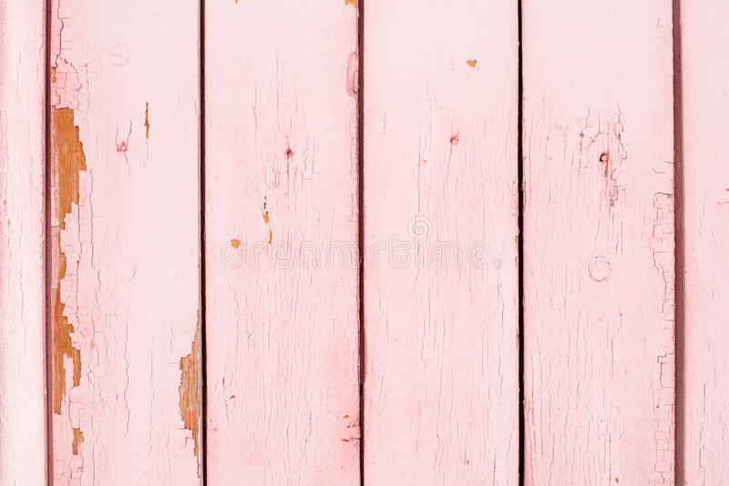Superfície pintada de madeira velha com pintura flocoso foto de stock royalty free