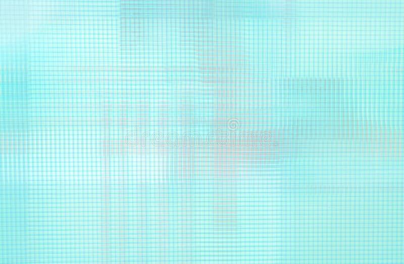 Superfície plástica clara do telhado, telhado azul, assento do campo de futebol ilustração do vetor