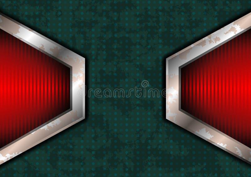 Download Superfície Pontilhada áspera Com Luzes Vermelhas Ilustração do Vetor - Ilustração de bandeira, ícone: 29844711