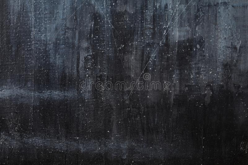 Superfície preta lisa do fundo, do quadro-negro ou do quadro foto de stock
