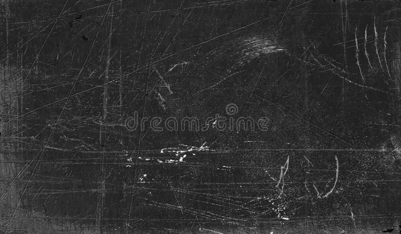 Superfície riscada do quadro-negro fotos de stock royalty free