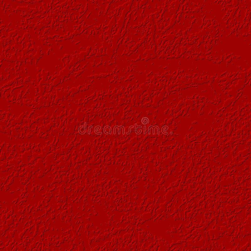 Superfície textured vermelho ilustração royalty free