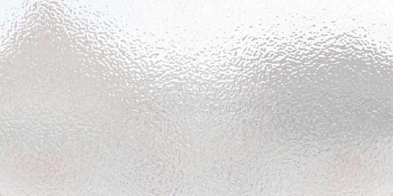 Superf?cie clara do res?duo met?lico Vidro transparente plástico ilustração stock