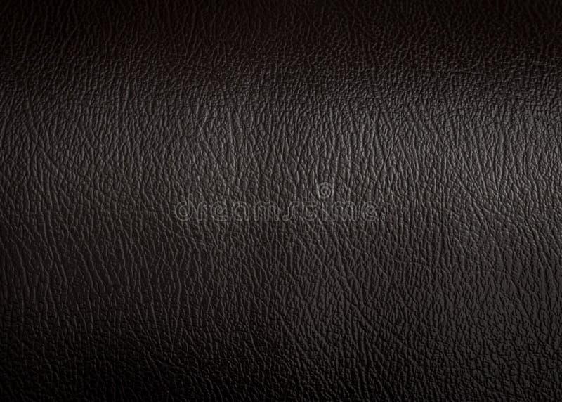 Superf?cie de couro preta do fundo da textura O material luxuoso fez da pele animal fotos de stock royalty free