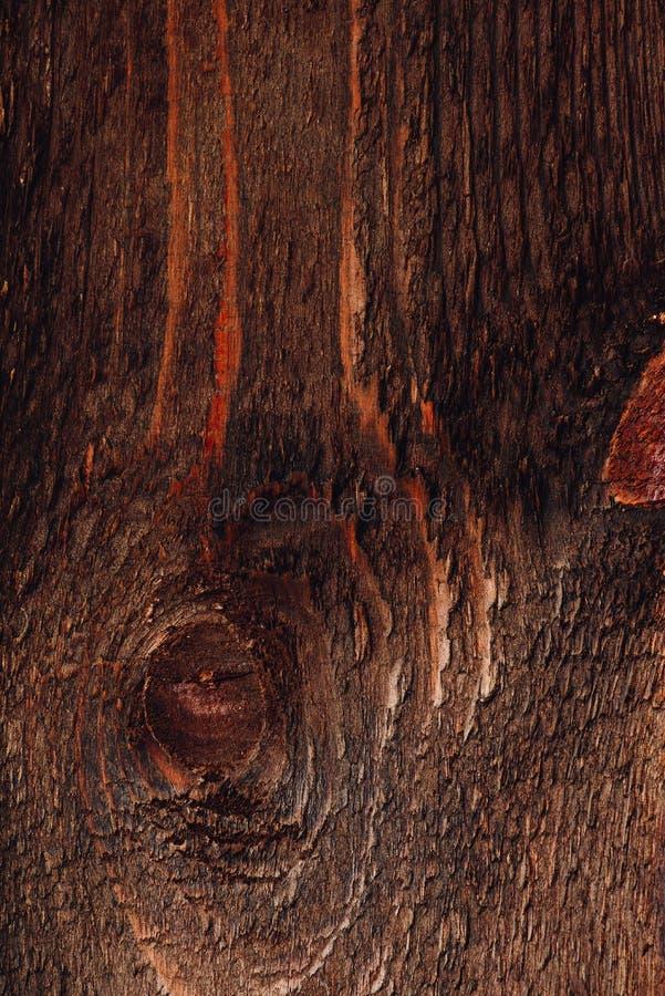Superf?cie de madeira escura foto de stock