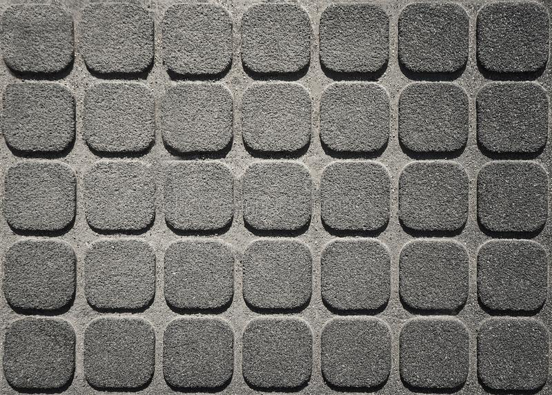 Superficie adornada con las tejas concretas del mosaico imágenes de archivo libres de regalías