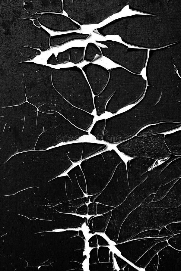 Superficie agrietada y pelada - textura de las grietas del grunge imagen de archivo