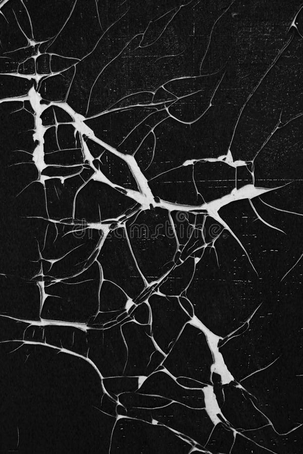 Superficie agrietada y pelada - textura de las grietas del grunge imagenes de archivo
