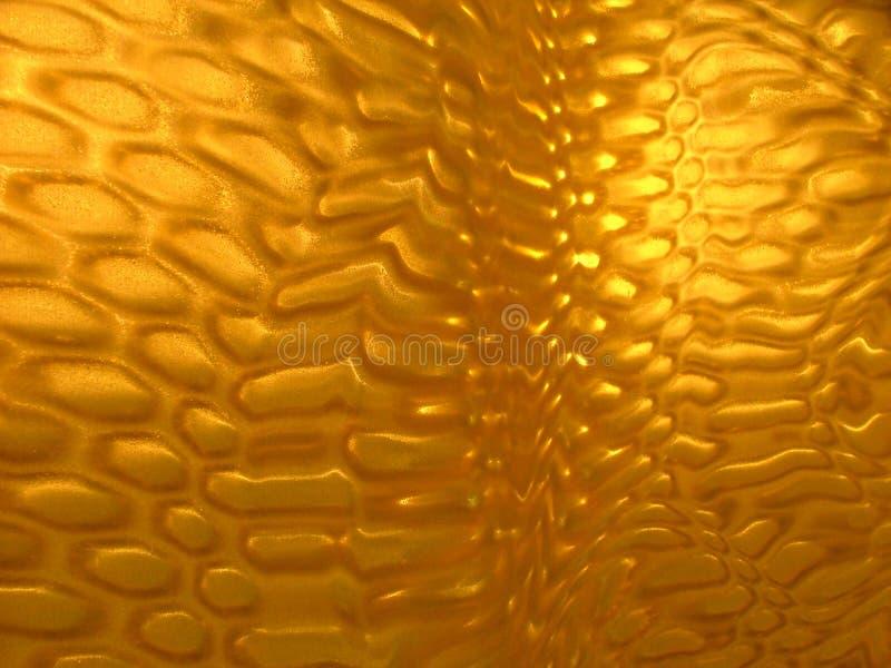 Superficie amarilla interesante Textured foto de archivo libre de regalías