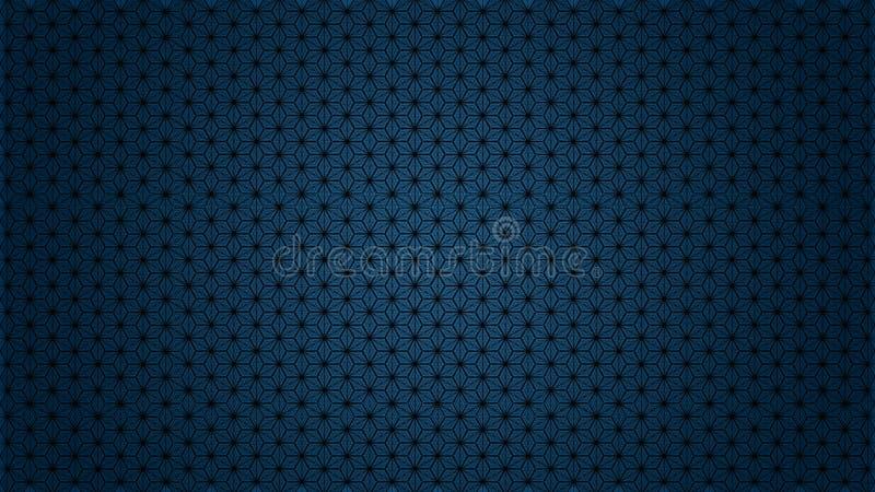 Superficie astratta del modello che forma i cubi, stelle, esagoni fotografia stock