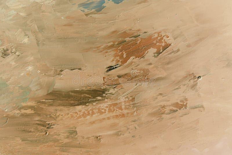 Superficie astratta del pianeta di Marte del fondo immagine stock