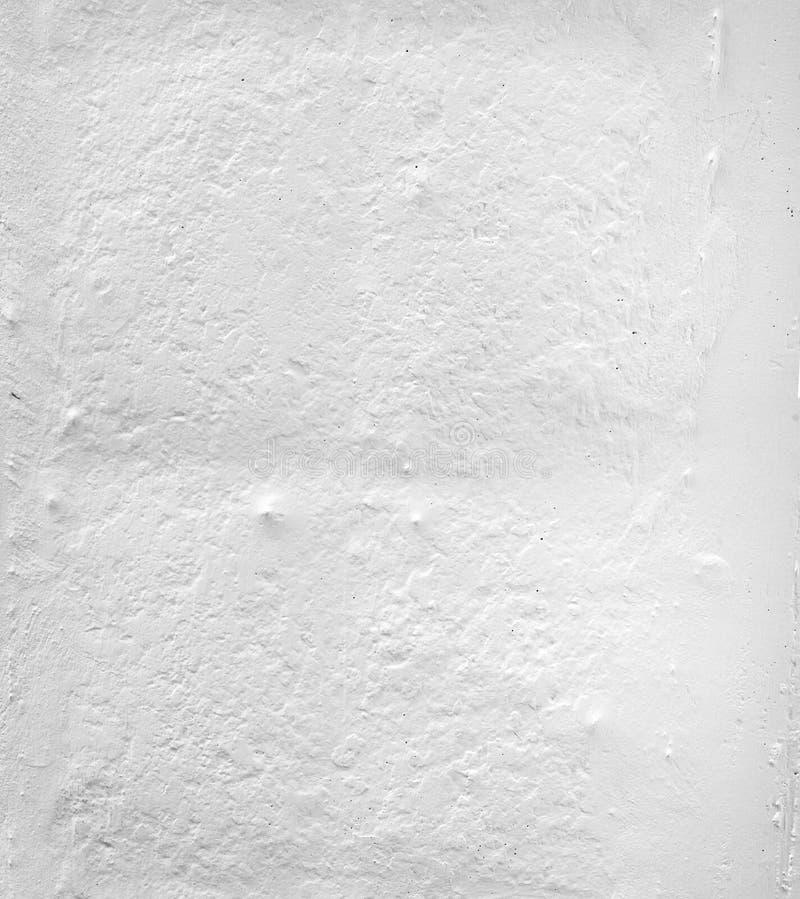 Superficie bianca del congrete fotografia stock libera da diritti