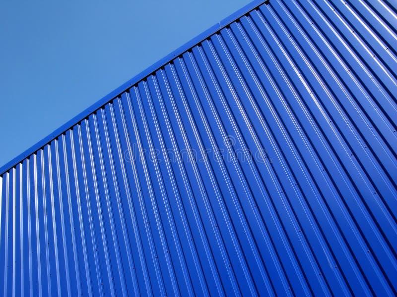 Superficie blu fotografia stock