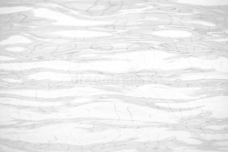 Superficie calma dell'acqua con le piccole ondulazioni, l'estratto bianco dell'onda o il fondo increspato di struttura dell'acqua fotografie stock libere da diritti