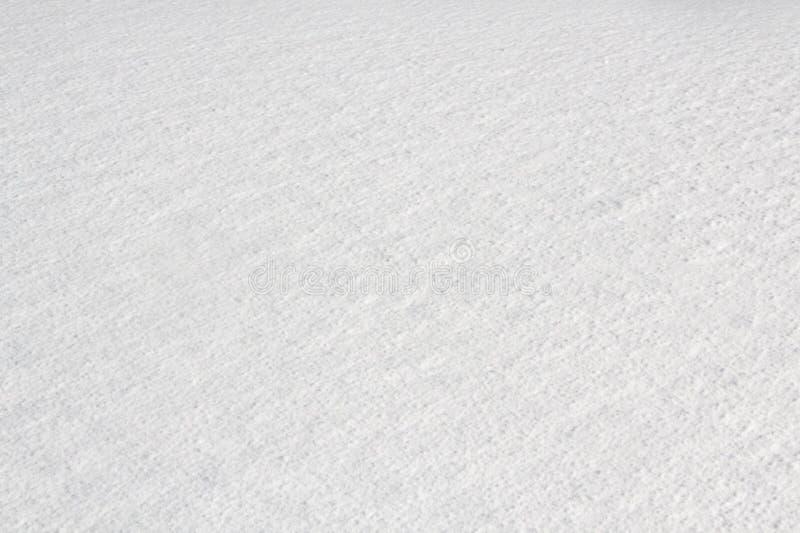 Superficie congelada de la nieve fotografía de archivo libre de regalías