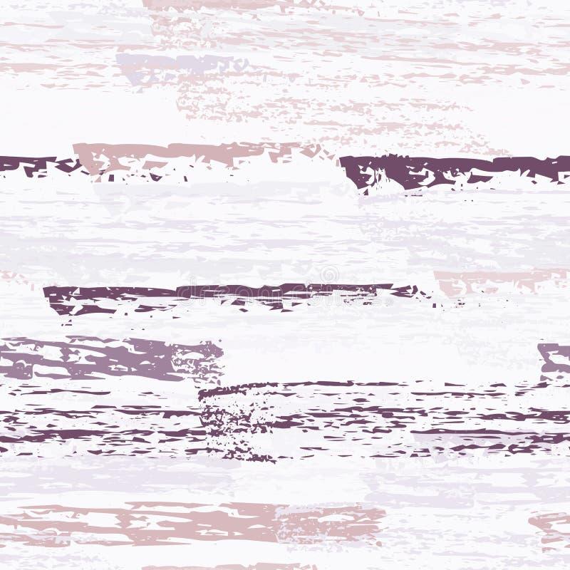 Superficie consumata del carbone del gesso di struttura pinstripe illustrazione di stock