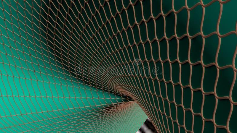 Superficie curvada ilustración del vector
