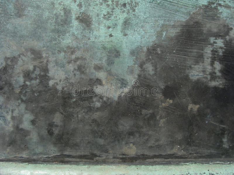 Superficie de bronce del Grunge en verde azul negro imagenes de archivo