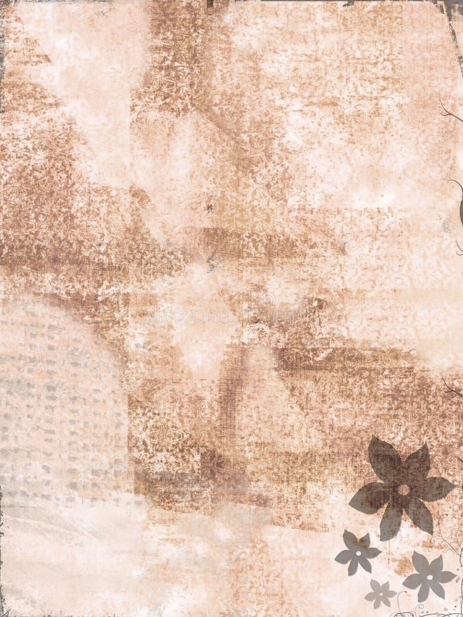 Superficie de la flor stock de ilustración
