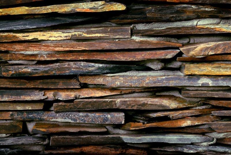 Superficie de la pared de piedra foto de archivo