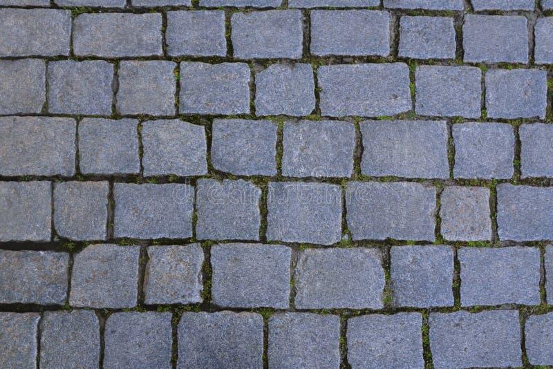 Superficie de la piedra de pavimentación fotografía de archivo libre de regalías
