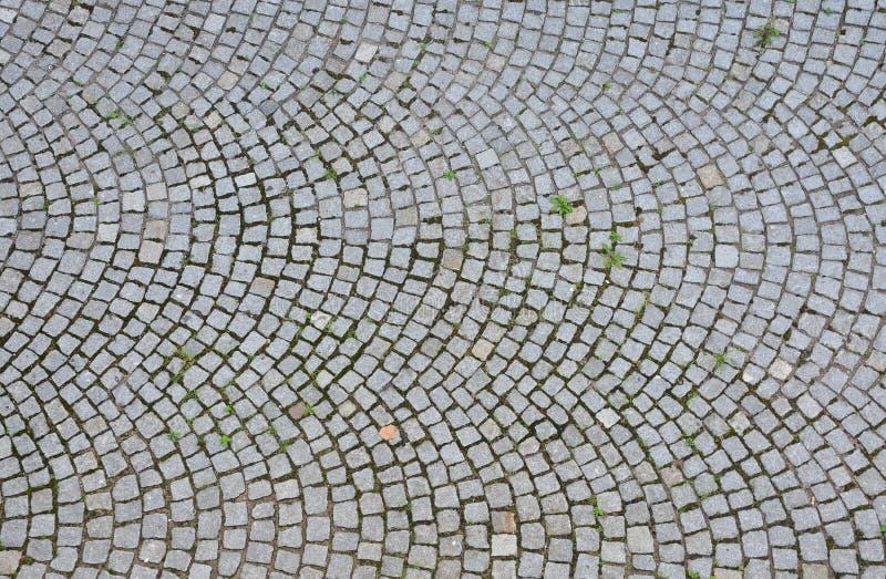Superficie de la piedra de pavimentación imagen de archivo