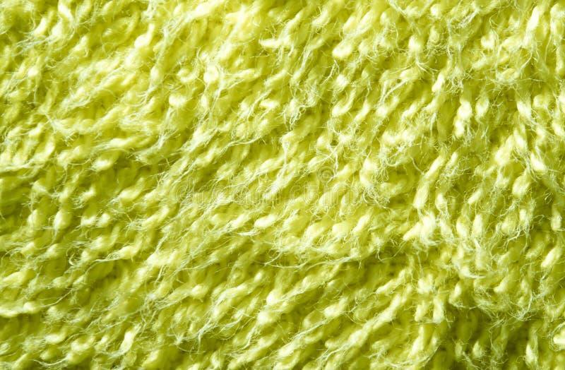 Superficie de la textura de la toalla de baño verde fotos de archivo libres de regalías