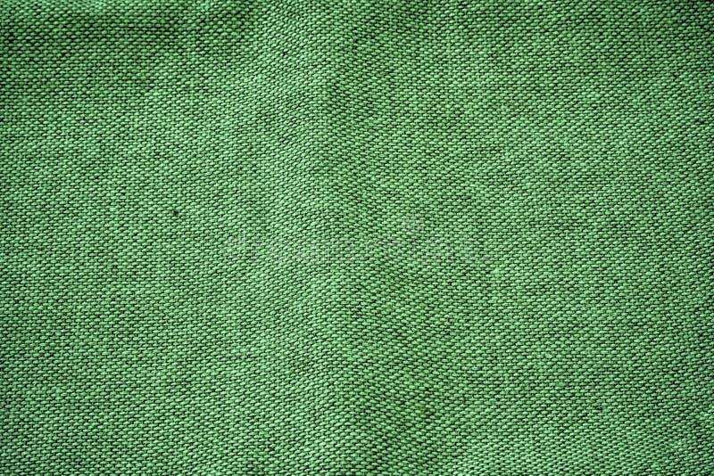 Superficie de lino ultra verde de la tela para el uso de la maqueta o del diseñador, muestra, muestra de la cubierta de libro imágenes de archivo libres de regalías