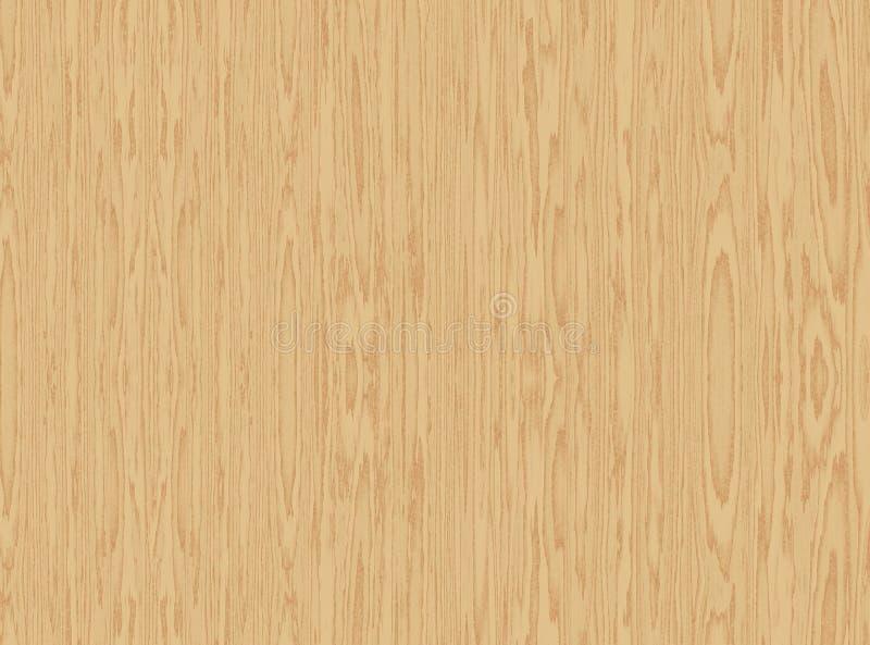 Superficie de madera ilustración del vector