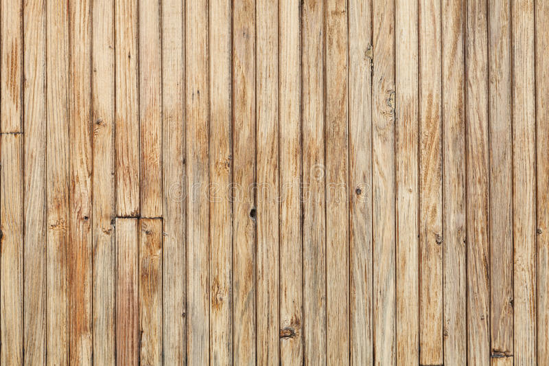 Superficie de madera de la pared, textura de madera, tableros verticales imagen de archivo libre de regalías