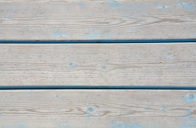 Superficie de madera de la playa fotos de archivo